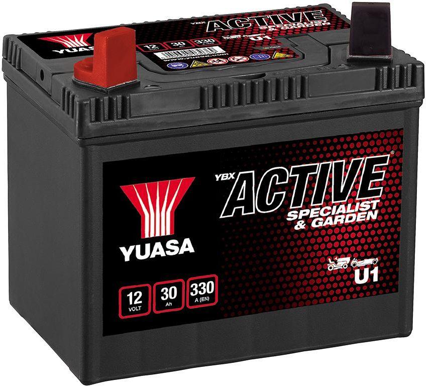 Autobaterie Yuasa YBX ACTIVE Garden 12V, 30Ah, 330A, U1